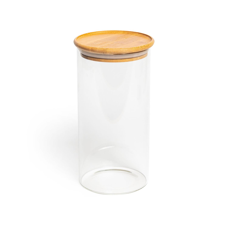 Aufbewahrungsglas, Modell: rund, Größe: 20x10cm, 1200ml