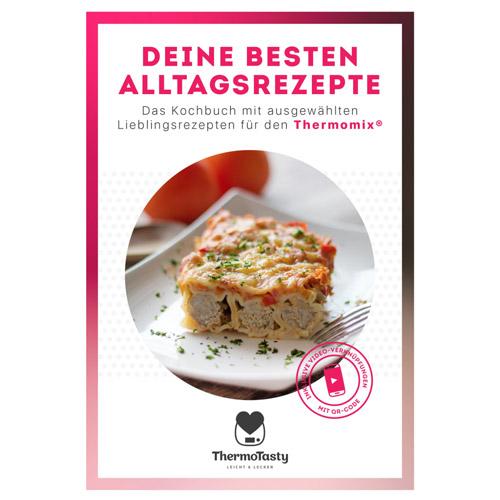 Alltagsbündel: Alltags-Rezeptbuch & Spatelset & Grußkartenset