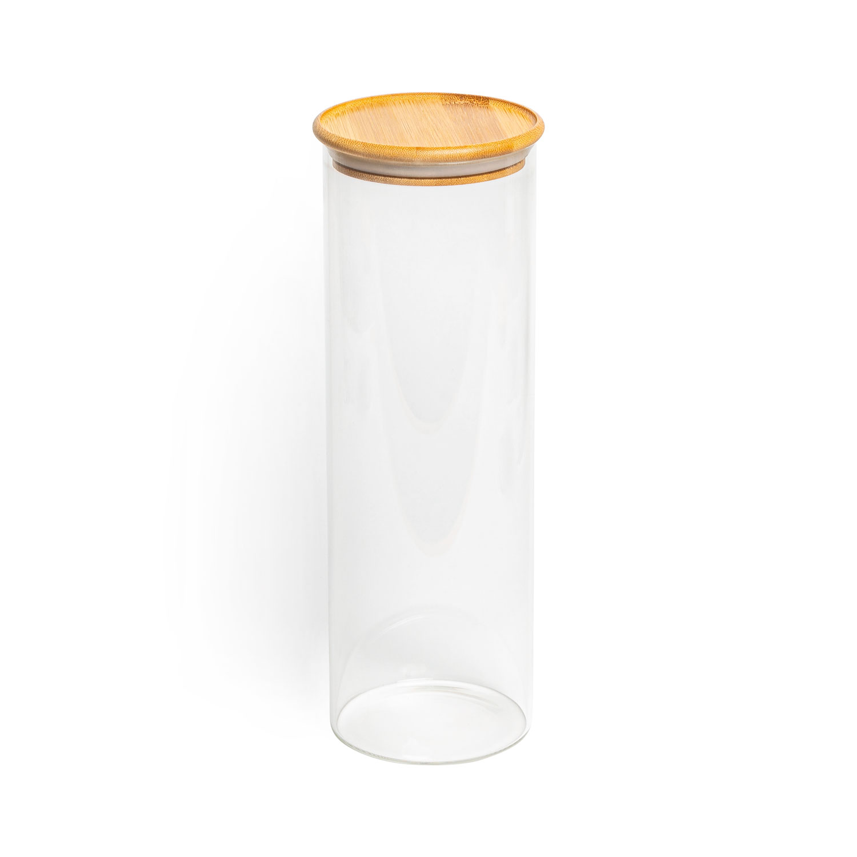 Aufbewahrungsglas, Modell: rund, Größe: 30x10cm, 1800ml