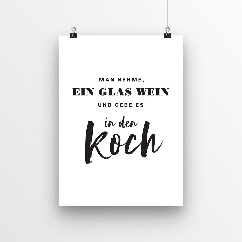 "3x Poster ""Home Kitchen"""