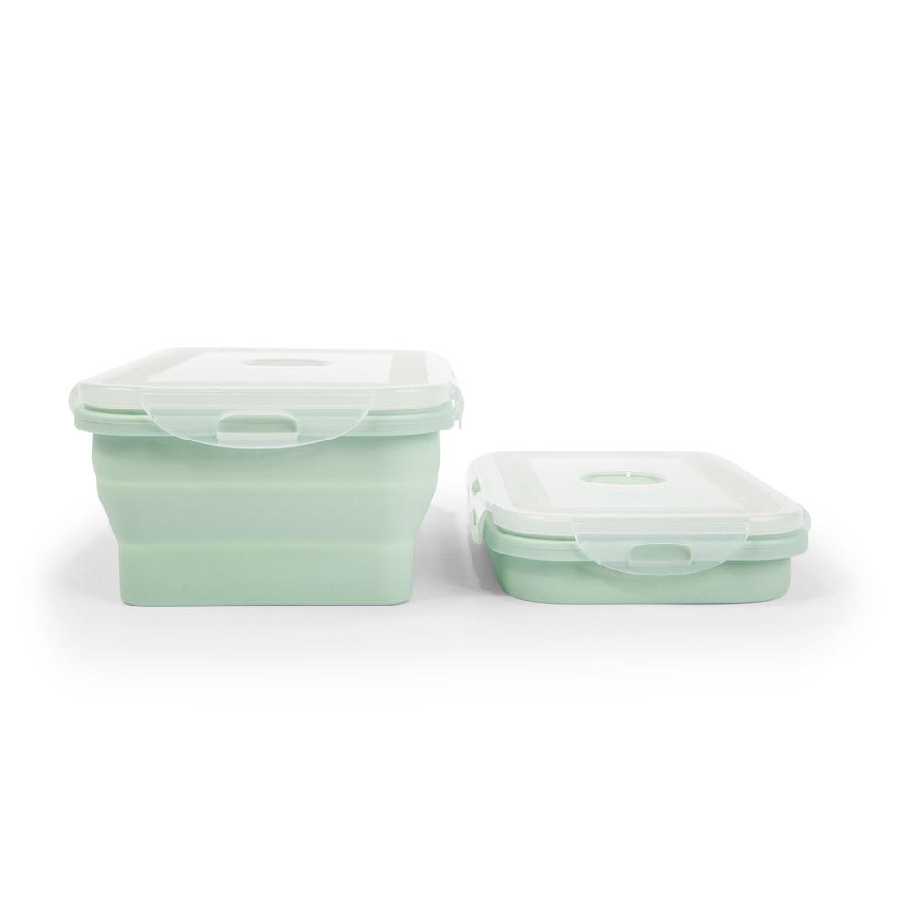 Silikon Lunchboxen / Frischhaltedosen, 4er-Set