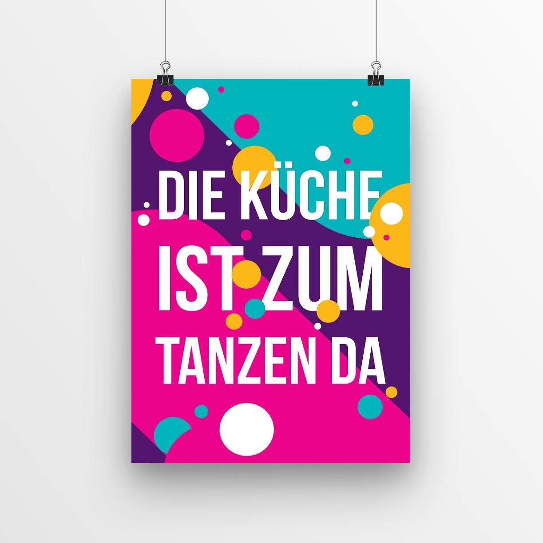 """3x Poster """"Kitchen Affair"""""""