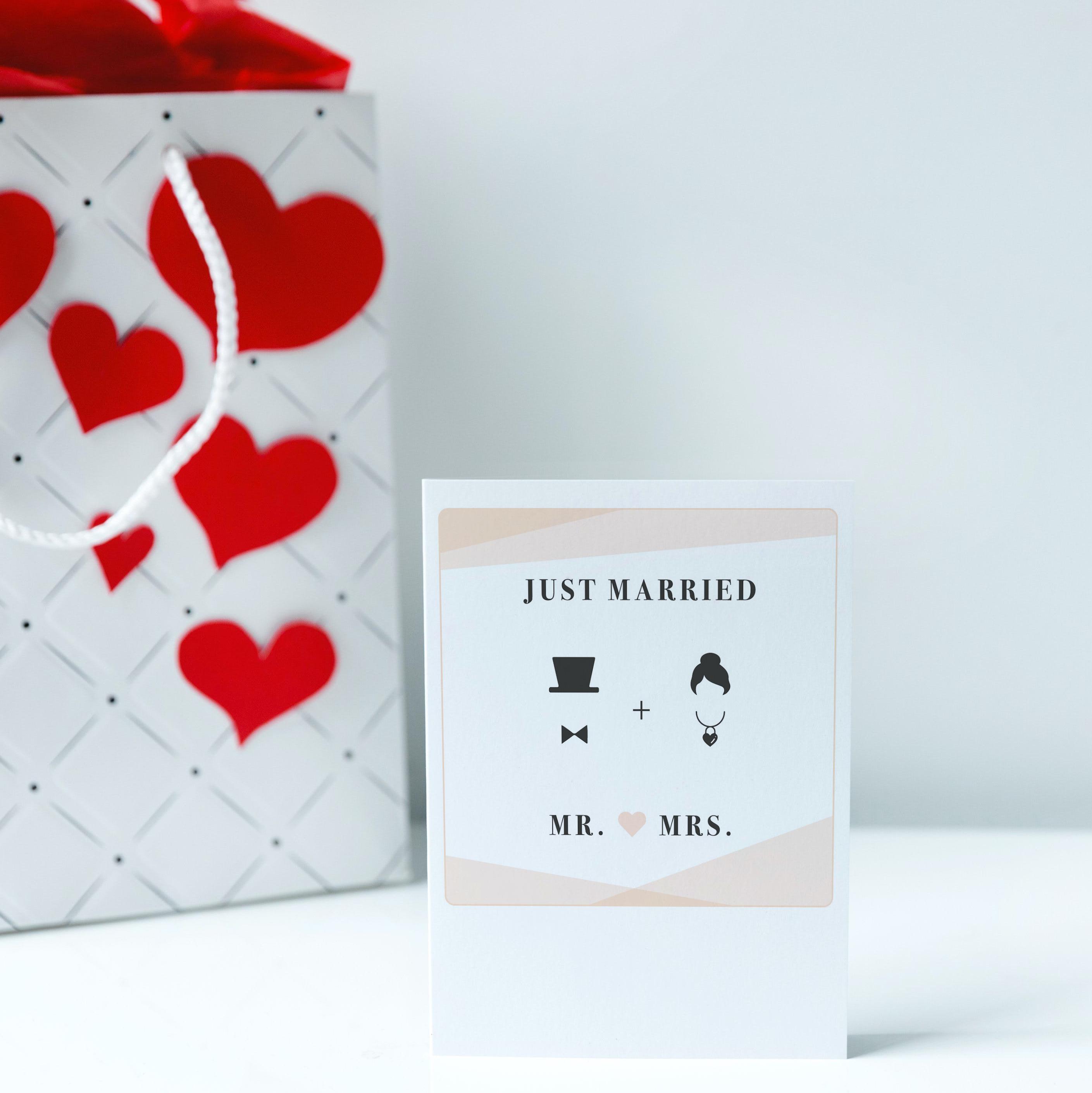 20 x Grußkarten im Polaroid-Format, Themen: Hochzeit, Geburt, Liebe