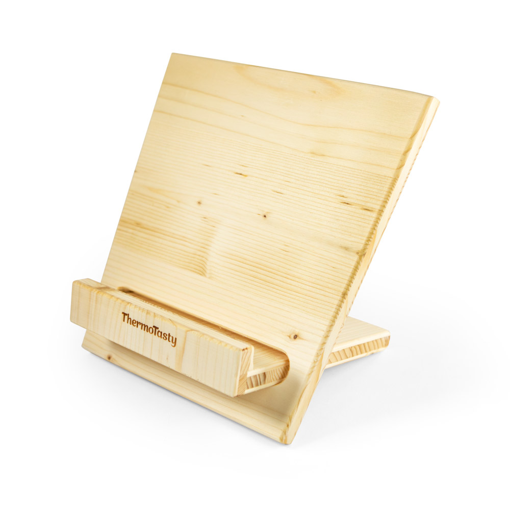 Buch- / Tabletständer aus Holz (handgefertigt)